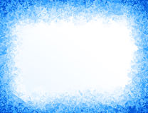 Vector blue ice background royalty free illustration