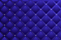 Vector blue leather background Stock Photo