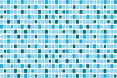 Vector blue mosaic Stock Images