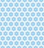 Vector blue seamless pattern, background with snowflakes Stock Photo