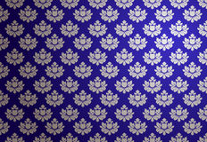 Vector blue and silver glamour pattern Royalty Free Stock Images