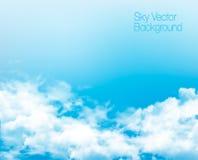 Vector blue sky panorama Stock Photo