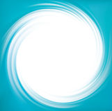 Vector blue swirling backdrop Stock Images