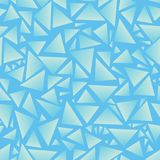Seamless background. Triangles.Vector illustration. Eps 10. Vector blue triangle texture, seamless repeat pattern background. Perfect for modern fabric stock illustration