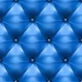 Vector of blue upholstery leather pattern background Royalty Free Stock Image
