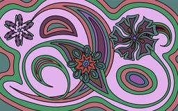 Vector Blumenmuster Stockfoto