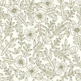 Vector Blumenmuster Stockfotografie