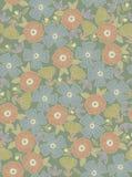 Vector Blumenmuster lizenzfreie abbildung