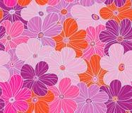 Vector Blumenmuster stock abbildung