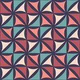 Vector Blumenmuster der modernen nahtlosen bunten Geometrie, Farbabstrakten geometrischen Hintergrund lizenzfreie abbildung