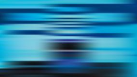 Vector blur blue background with horizontal stripes stock illustration