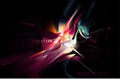 Vector blur composition Stock Photos