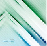 Vector blur lines geometric shape background Royalty Free Stock Images