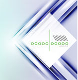 Vector blur lines geometric shape background Royalty Free Stock Photos