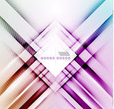 Vector blur lines geometric shape background Royalty Free Stock Image