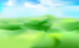 Vector blurred background of mountain landscape Royalty Free Stock Image