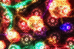 Vector Blurred Christmas Background Royalty Free Stock Photo
