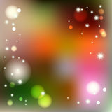Vector blurred winter abstract background.  Royalty Free Stock Images
