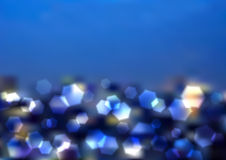 Vector Blurry Lights Royalty Free Stock Photo