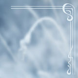 Vector blurry winter background. Royalty Free Stock Photography