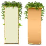 Vector Boards Set 6 Royalty Free Stock Photography