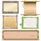 Vector Boards Set 2 Stock Images
