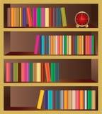 Vector Boekenrek Royalty-vrije Stock Fotografie