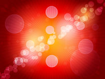 Vector Bokeh Background Royalty Free Stock Images
