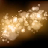 Vector bokeh background. One click colorchange Stock Image