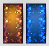 Vector Bokeh Background Royalty Free Stock Photo