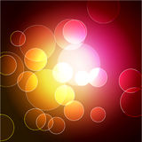 Vector bokeh design Royalty Free Stock Photography