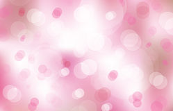 Vector bokeh pink background. Stock Images