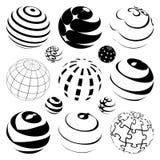 Vector bollen Royalty-vrije Stock Afbeelding