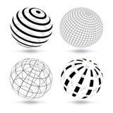 Vector bollen Royalty-vrije Stock Afbeeldingen