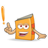 Vector Book Ask Mascot Illustration Royalty Free Stock Photos
