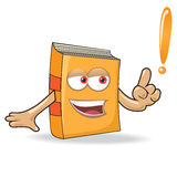 Vector Book Ask Mascot Illustration Stock Photography