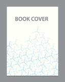 Vector book brochure cover template design. Book template for you business Royalty Free Stock Photo