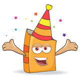 Vector Book Celebrate Mascot Illustration Stock Photo