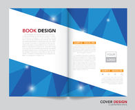 Vector of book cover,brochure,flyer ,annual report template Stock Photography