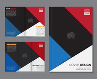 Vector of book cover,brochure,flyer ,annual report template Royalty Free Stock Image