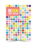 Vector book cover design template Royalty Free Stock Photos
