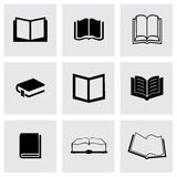 Vector book icons set Royalty Free Stock Photos
