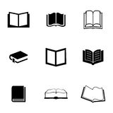 Vector book icons set Royalty Free Stock Photography
