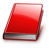 Vector book (version without signs on cover) Royalty Free Stock Photography