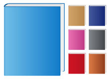 Vector Books. Set of vector books on white background Royalty Free Stock Image
