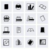 Vector books icon set Stock Photography