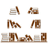 Vector books icons. Stock Images