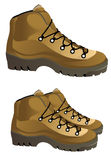 Vector Boots. This image is a  illustration Royalty Free Stock Images