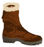 Vector Boots Royalty Free Stock Image