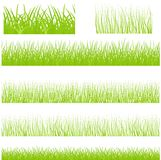 Vector borderless grass set Royalty Free Stock Photography